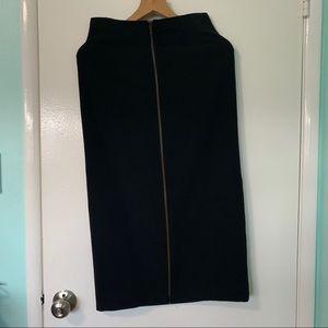 Ivan grundahl vintage midi zip skirt sz small